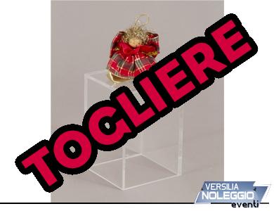 Cubo espositore, disponibile anche con anta e tasche porta brochure